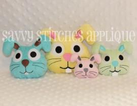 Bunny Head Plushie