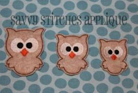 Kookie Owl Feltie