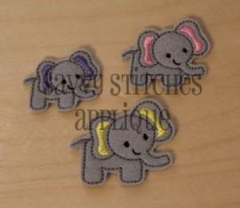 Elephant Feltie
