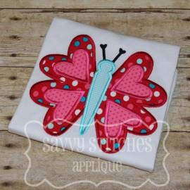Valentine Butterfly