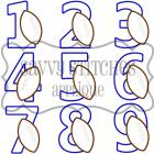 Football Number Set