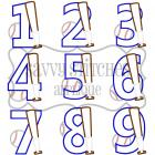 Baseball Number Set