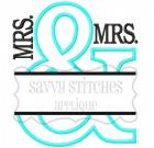 Split And Applique MRS./MRS.