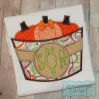 Pumpkin Basket Circle