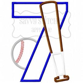 Baseball Number Seven