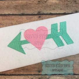 Arrow Heart Fill
